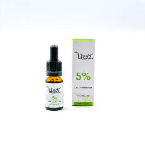 WEEDZZ Vollspektrum Premium 5% CBD Öl
