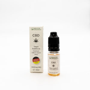 Breathe Organics 1000mg Premium CBD Vape Base