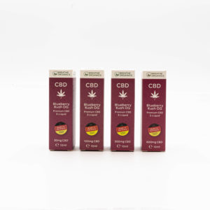 Breathe Organics Blueberry Kush OG Premium CBD E-Liquid