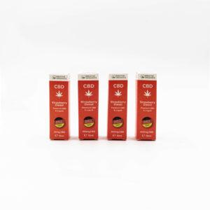 Breathe Organics Strawberry Diesel Premium CBD E-Liquid