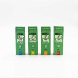Harmony Original Hemp CBD E-Liquide