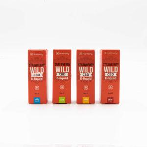 Harmony Strawberry Wild CBD E-Liquid
