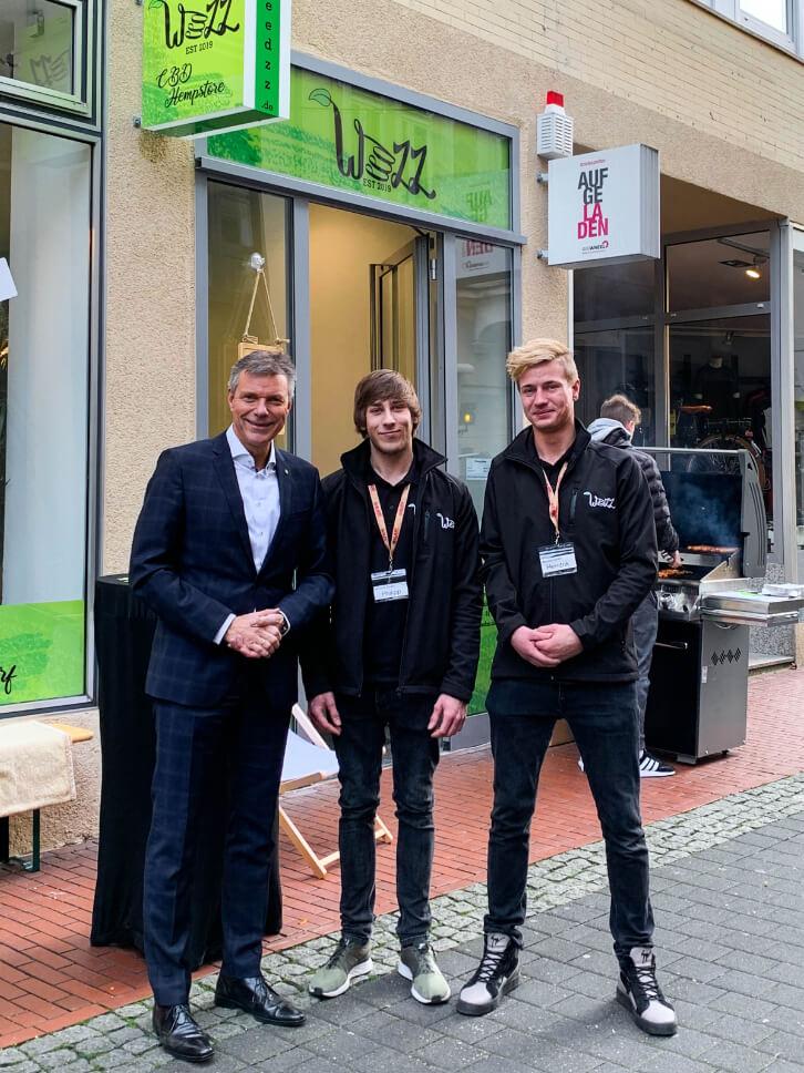 Christoph Tesche (Bürgermeister Recklinghausen), Philipp Vorhauer, Hendrik Wagner