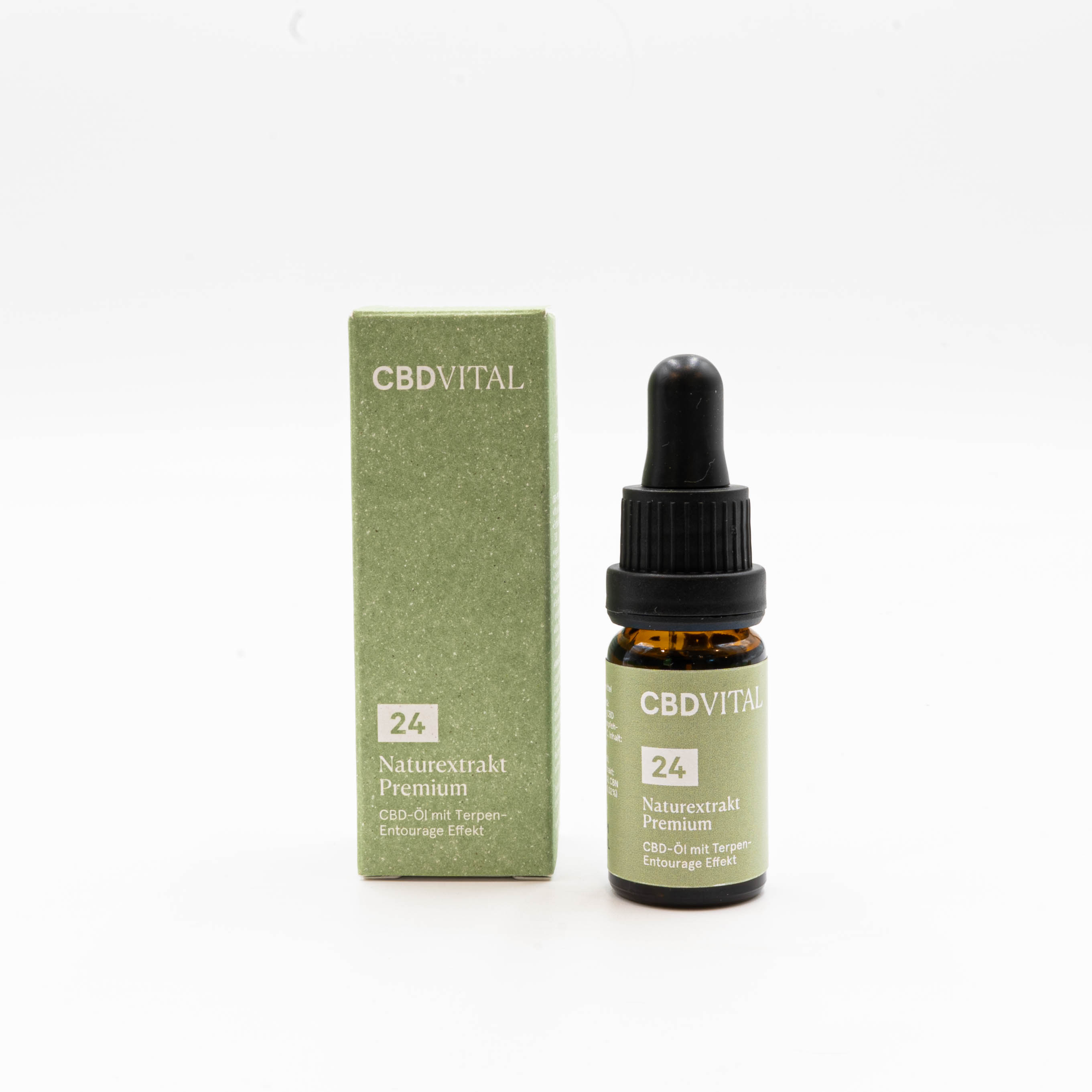 CBD Vital Naturextrakt Premium Öl 24% 10ml