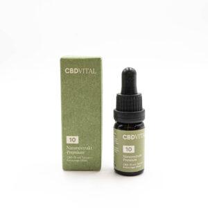 CBD Vital Naturextrakt Premium Öl 10% 10ml