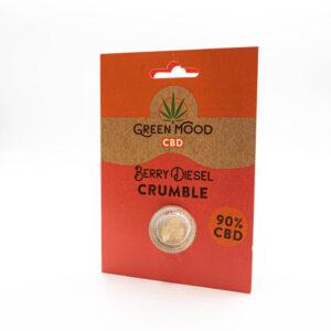 Green Mood Crumble - Berry Diesel 0,5g | 90% CBD