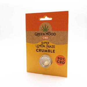 Green Mood Crumble – Super Lemon Haze 0,5g | 90% CBD