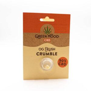 Green Mood Crumble – OG Kush 0,5g | 90% CBD