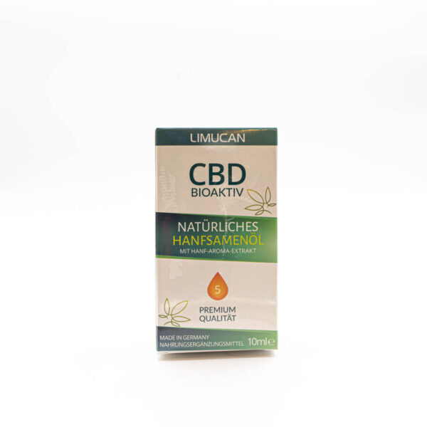 Limucan CBD Naturell 5 Bio