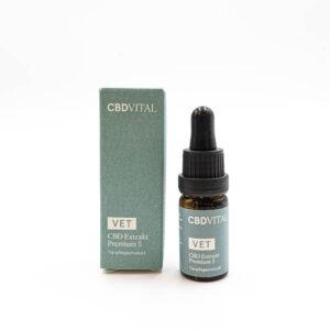 CBD Vital Vet CBD Extrakt Premium 5% für Tiere bis 20kg - 10ml
