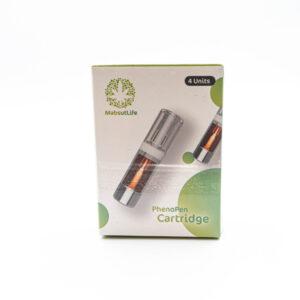 PhenoPen MabsutLife 4x 59,7% CBD Kartusche