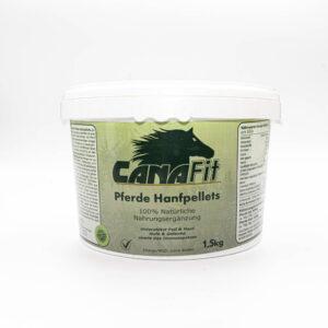 CanaFit Pferde-Hanfpellets 1,5kg