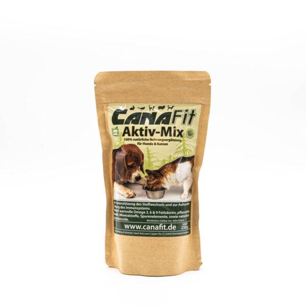 CanaFit Hunde & Katzen Aktiv-Mix 250g