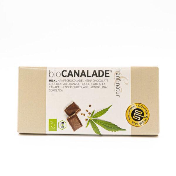 Canalade Vollmilch Bio Hanfschokolade 100g