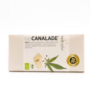 Canalade white Bio Hanfschokolade 100g